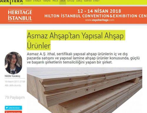 Asmaz Ahşap'tan Yapısal Ahşap Ürünler – Arkitera